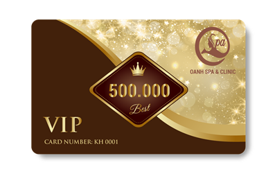 Thẻ Voucher PVC Oanh Spa & Clinic